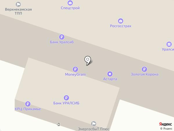 РОСГОССТРАХ Банк, ПАО на карте Березников