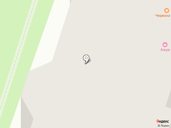 Центральное на карте Березников