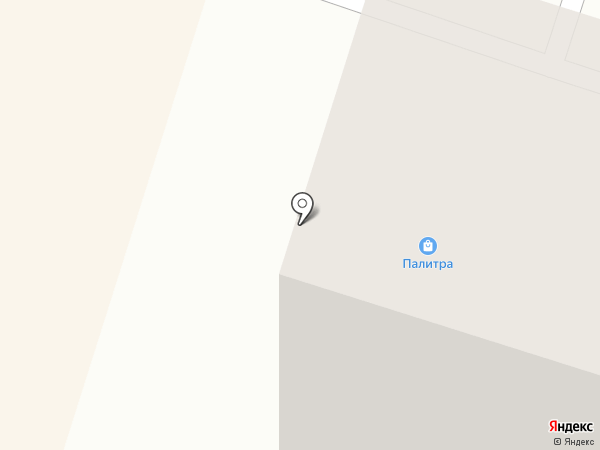 Палитра на карте Березников