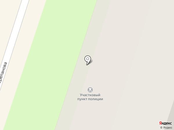 Участковый пункт полиции №6 на карте Березников