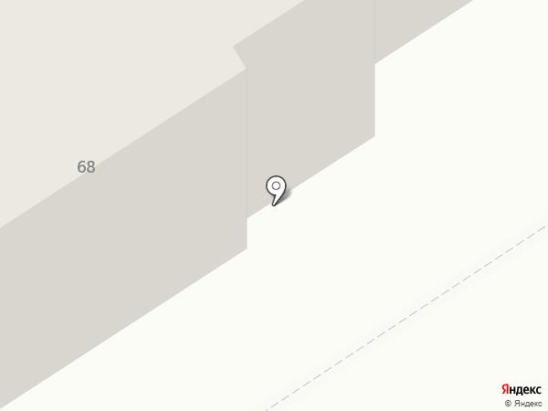 Сапожок на карте Березников