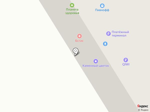 Мясной, магазин на карте Березников