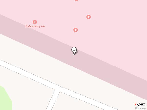 Лабораторный корпус детской городской больницы на карте Березников