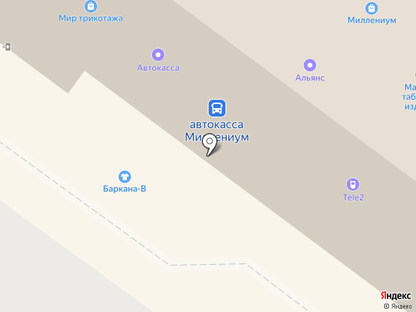 Марина на карте Березников