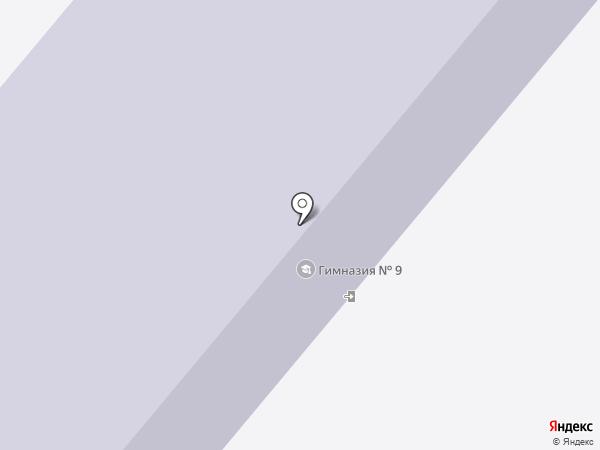 Гимназия №9 на карте Березников