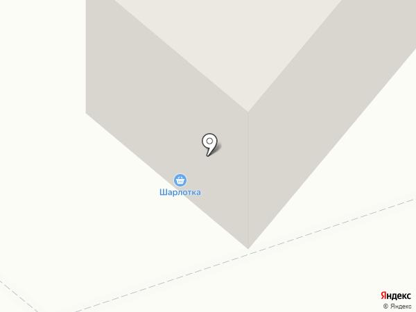Шарлотка на карте Березников