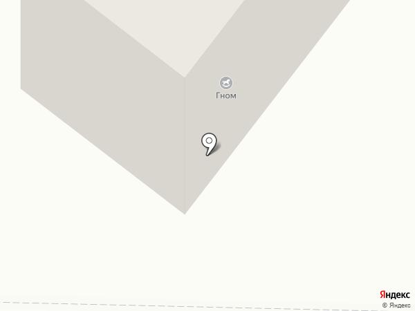 Гном на карте Березников