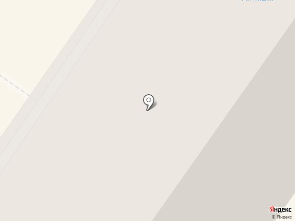 Кристалл на карте Березников