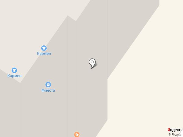 Березка на карте Березников