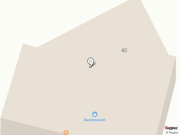 Неон на карте Березников