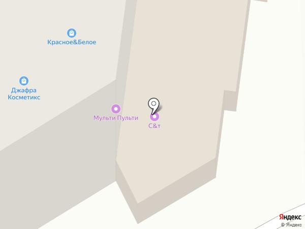 Русь на карте Березников