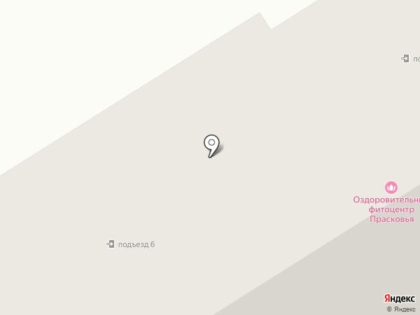 Прасковья на карте Березников