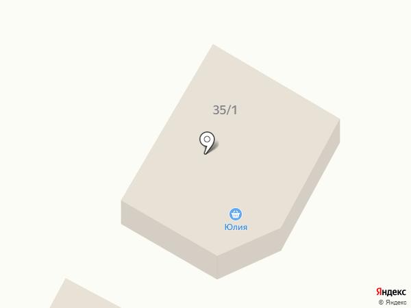 Юлия на карте Зелёной Поляны