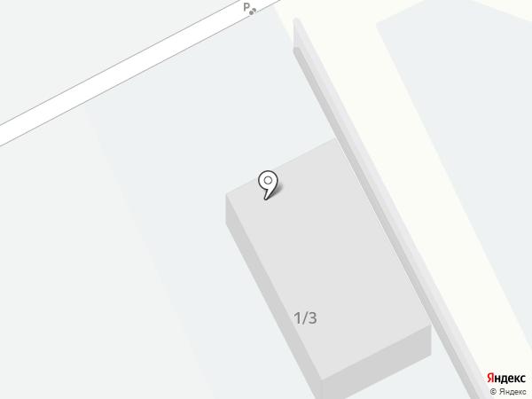 Автомобильная стоянка №2 на карте Зелёной Поляны