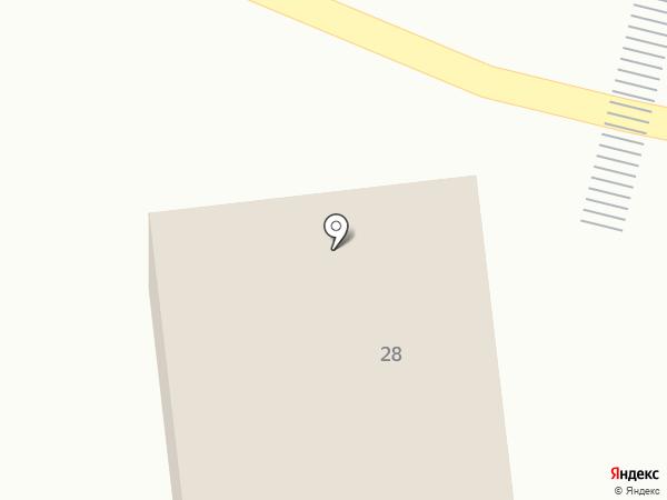 ПРИДОРОЖНОЕ на карте Зелёной Поляны