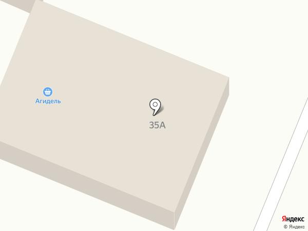 Агидель, продуктовый магазин на карте Михайловки