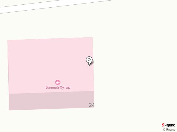 Банный хутор на карте Красной Башкирии