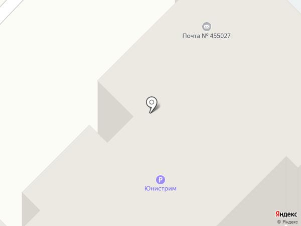 Западный-1 на карте Магнитогорска