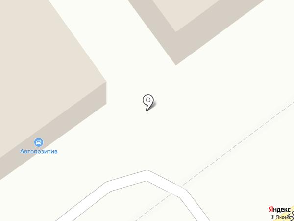 Авто позитив на карте Магнитогорска