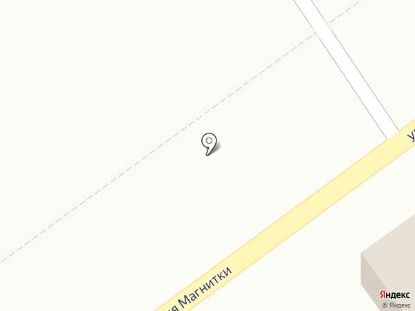 Шиномон на карте Магнитогорска