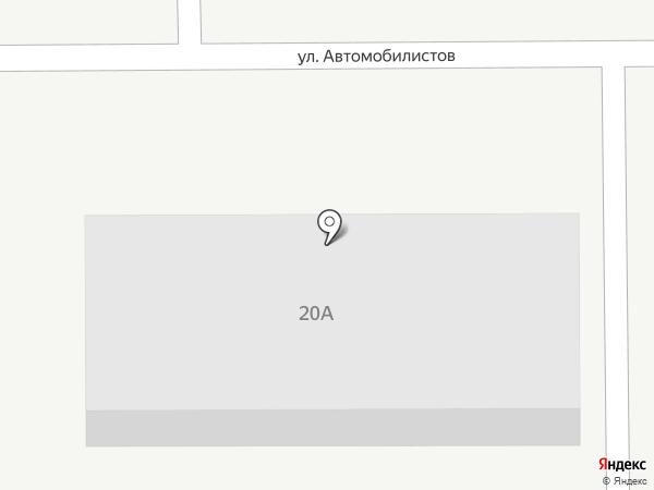 Машутка на карте Магнитогорска