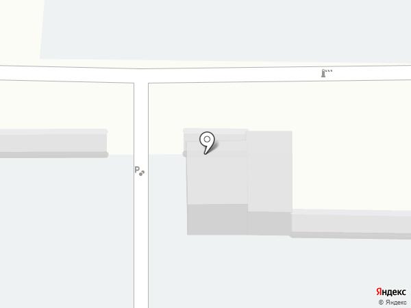 Сеть автостоянок на карте Магнитогорска