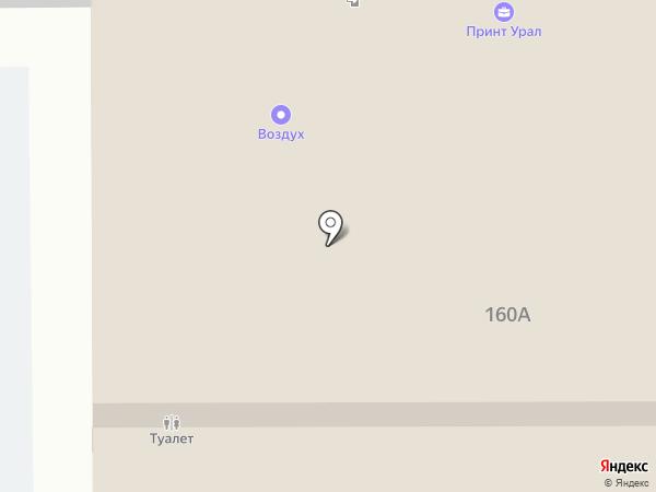 Салон-магазин мебели на карте Магнитогорска
