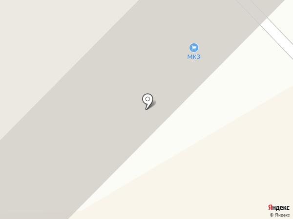 Малахит на карте Магнитогорска