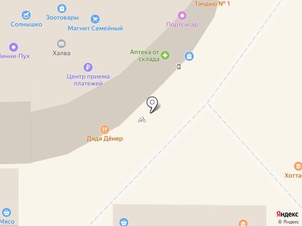Металлург на карте Магнитогорска