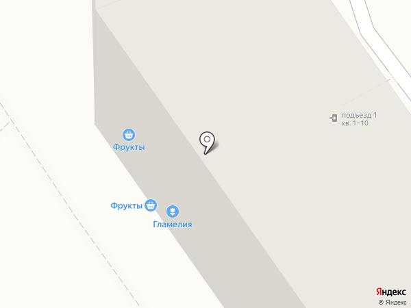 Магазин фруктов на карте Магнитогорска