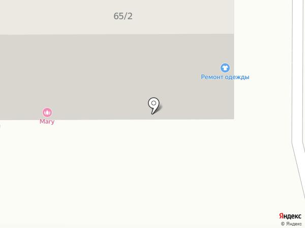Акватория на карте Магнитогорска