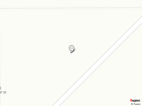 ЖЭУ №25 на карте Магнитогорска