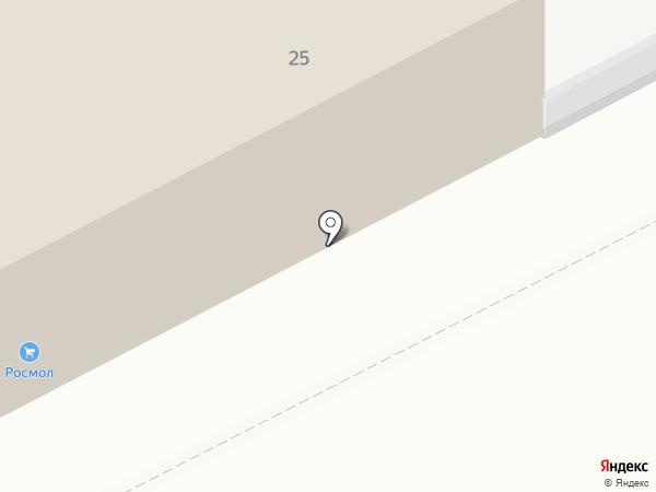 Магнитогорский молочный комбинат на карте Магнитогорска