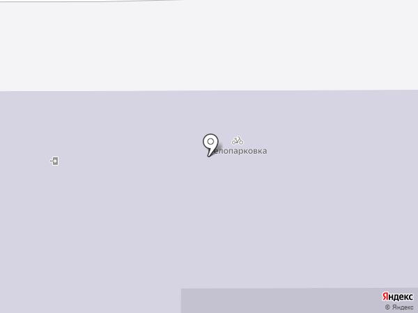 Многопрофильный лицей №1 на карте Магнитогорска