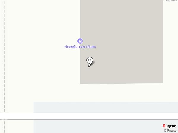 АИБ Челябинвестбанк, ПАО на карте Магнитогорска
