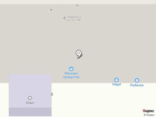 Социальный на карте Магнитогорска