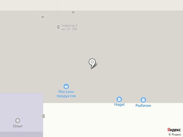 Рыбачок на карте Магнитогорска