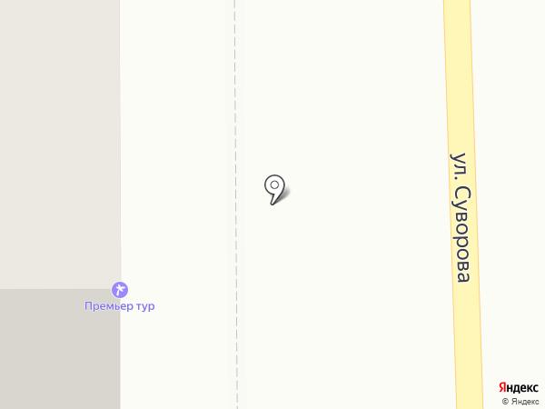 Премьер Тур на карте Магнитогорска