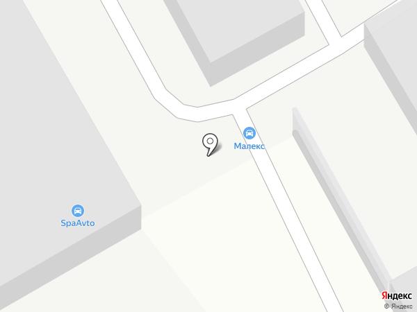 Автосервис у Сергеевича на карте Магнитогорска