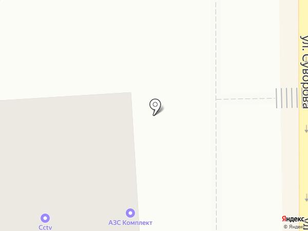 Экспресс на карте Магнитогорска