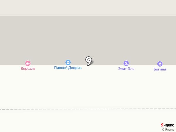 Пивной Дворик на карте Магнитогорска
