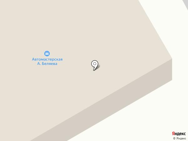 Автомастерская Александра Беляева на карте Магнитогорска