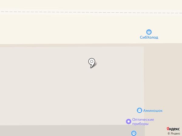 Аминошок на карте Магнитогорска