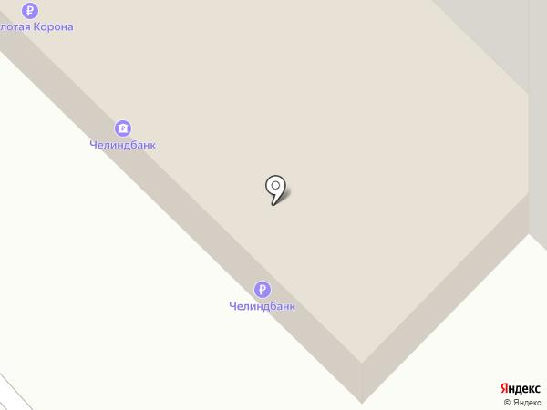 АКБ Челиндбанк, ПАО на карте Магнитогорска