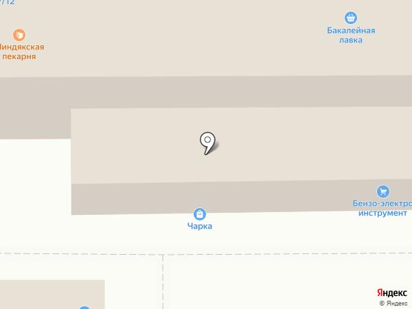 Магазин хлебобулочных и кондитерских изделий на карте Магнитогорска