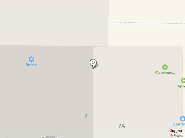 Чанг на карте Магнитогорска