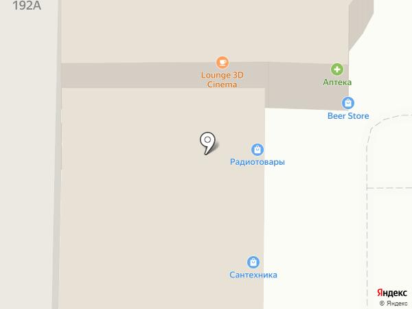 Торгово-сервисный центр на карте Магнитогорска