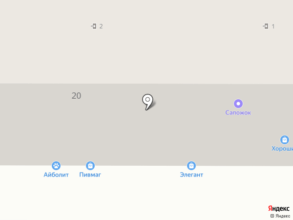 Адвокатский кабинет Шумских С.Б. на карте Магнитогорска