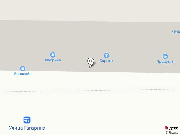 Фабрика мебельных фасадов на карте Магнитогорска