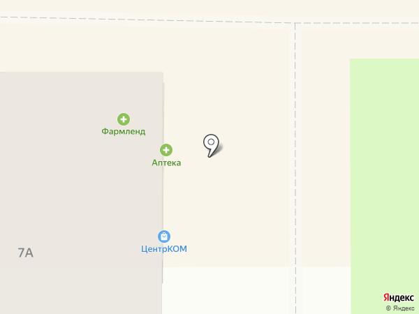 ЦентрКОМ на карте Магнитогорска